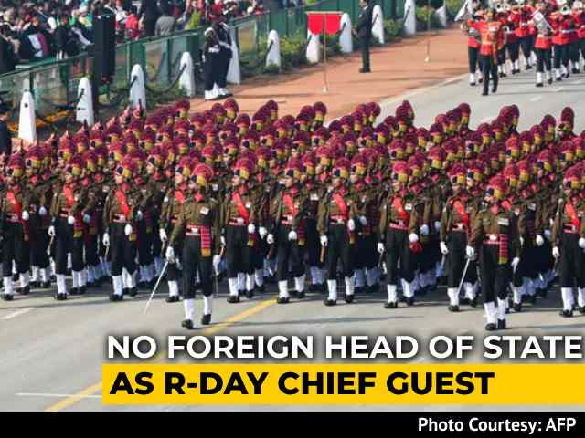 Video : No Foreign Head Of State As Republic Day Chief Guest Due To Covid: Centre