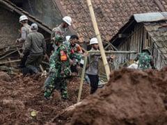 11 Killed In Indonesia Landslides, Scores Missing