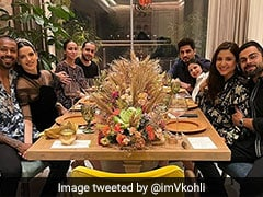 Virat Kohli, Anushka Sharma Have New Year's Eve Dinner With Hardik Pandya And Natasa Stankovic. See Pics