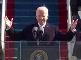 Video : Joe Biden, Kamala Harris Take Oath Of Office