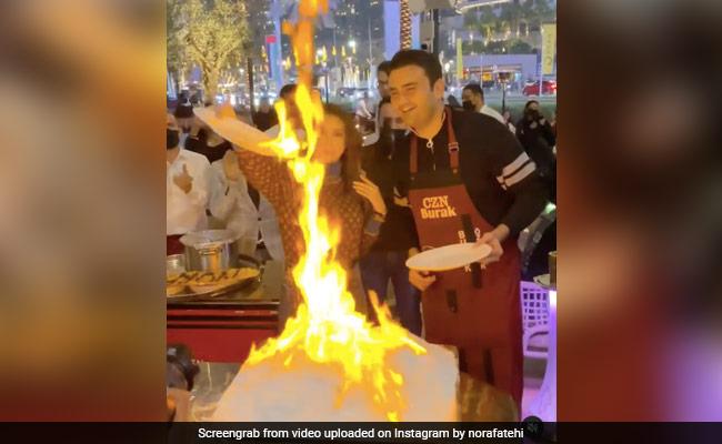 Nora Fatehi viral video