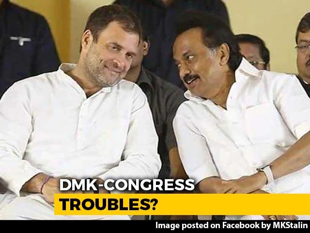Video : Strain In DMK-Congress Alliance In Puducherry, Months Before Polls