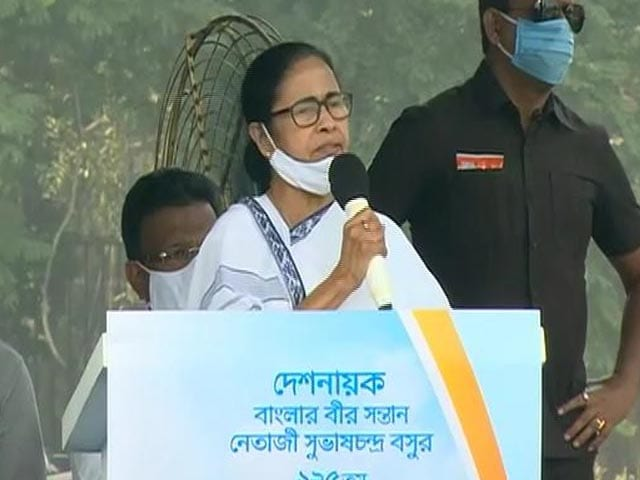 """Video : """"Taunted In Front Of PM"""": Mamata Banerjee Attacks BJP Over Netaji Event"""