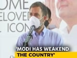 "Video : ""Not Said A Word About China In 6 Months"": Rahul Gandhi Slams PM Modi"