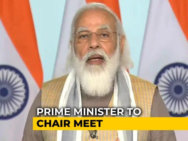 Video : PM Modi To Meet Chief Ministers On Monday Over Coronavirus Vaccine Rollout