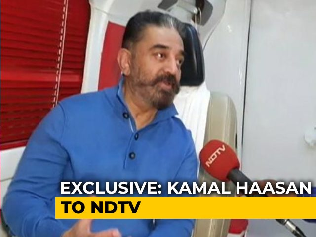 Video : Will Seek Rajinikanth's Support, Any Goodwill Will Help, Says Kamal Haasan