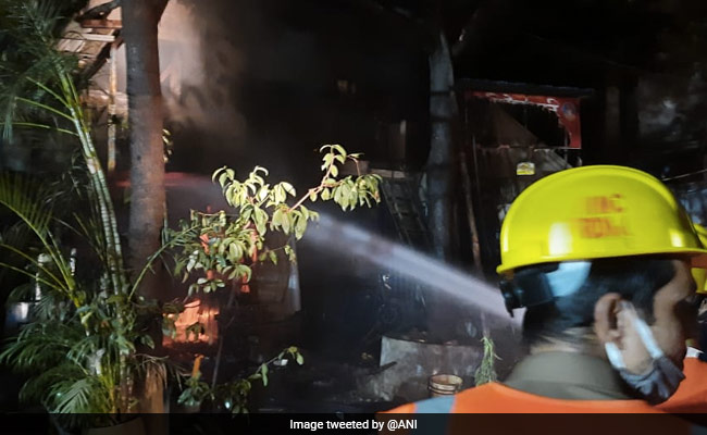 Six Injured After Fire Breaks Out At Shop In Maharashtra's Thane