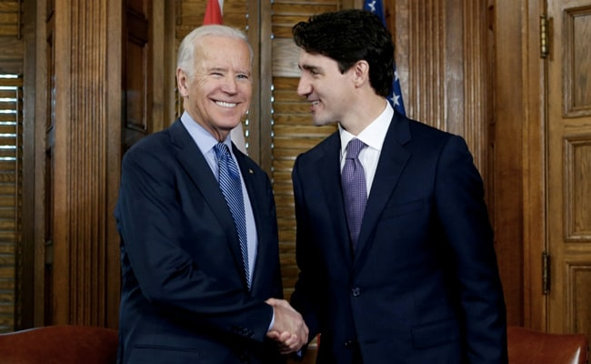 Biden, Trudeau To Meet Next Month, Collaborate On Vaccines, Medical Supplies