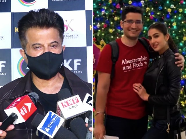 'I Am Positive About 2021' Anil Kapoor, Sara Ali Khan's Holiday Photos & More