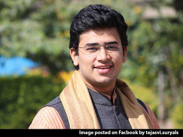 "Video : ""If They Can Do This To US President..."": BJP's Tejasvi Surya On Twitter"