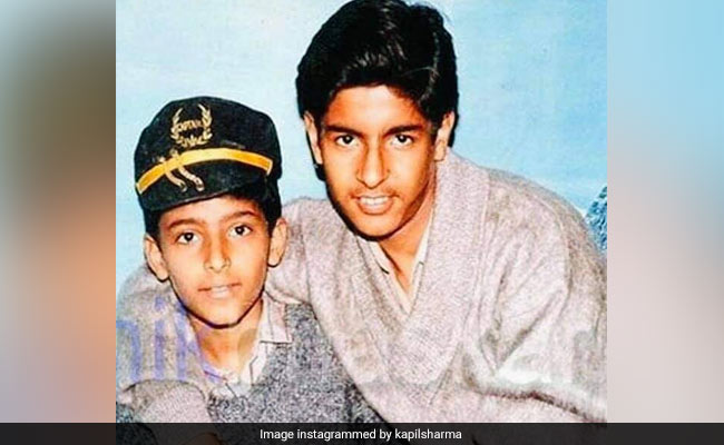 Here's What Kapil Sharma Looked Like 28 Years Ago. See Throwback Pic