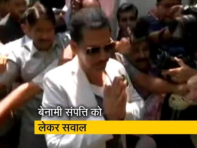 Videos : आयकर विभाग की टीम ने रॉबर्ट वाड्रा से की लंबी पूछताछ