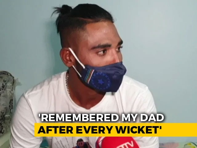 Video : Father's Death Gave Mental Strength To Deal With Racial Abuse: Mohammed Siraj