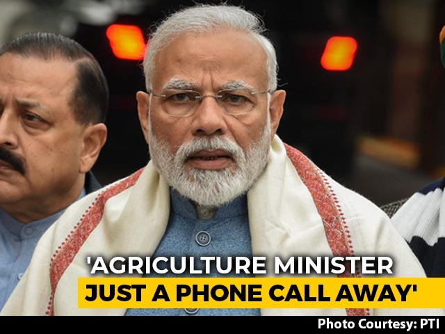 """Video : """"Agriculture Minister A Phone Call Away"""": PM Modi At All-Party Meet On Farmers"""