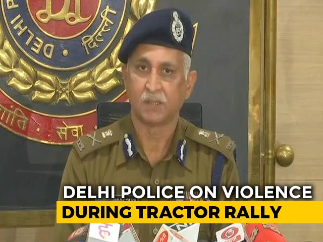 Video : Farmers Were Asked To Hold Rally From 12 To 5 PM, Says Delhi Police