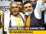 Video : Nandigram: BJP Holds Rally, Dilip Ghosh Chief Guest