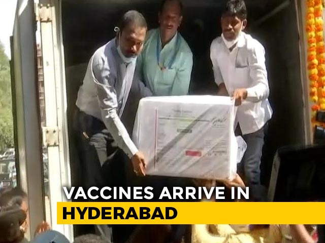 Video : Why Hyderabad Is Likely To Play Major Role For Export Of Covid Vaccines