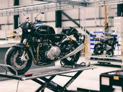 Norton Commando Production Begins At New Factory