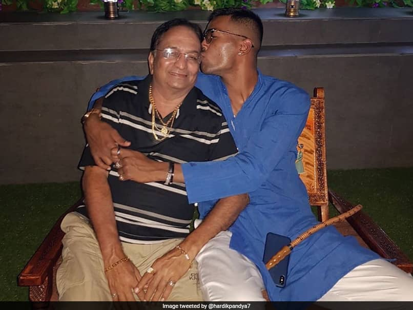 Hardik Pandya gets emotional, pays tribute to father; shares emotional post on social media