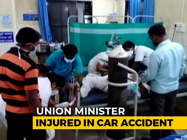 Video : Union Minister Shripad Naik Injured In Accident; Wife, Close Aide Dead