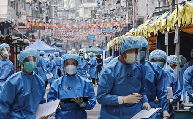 Thousands of Hong Kongers locked down to contain coronavirus - International