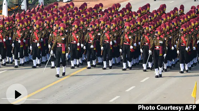 Video | Republic Day Parade With Many Firsts Amid Covid Restrictions
