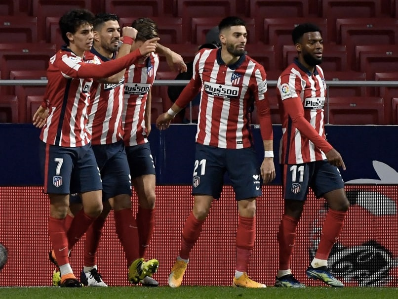 La Liga: Luis Suarez Strikes Again As Atletico Madrid March On With Valencia Win