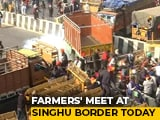 Video : Day After Clashes, Farmer Leaders To Address Protesters Today