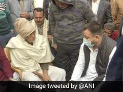 Tejashwi Yadav Meets Family Of Indigo Executive Who Was Killed In Bihar