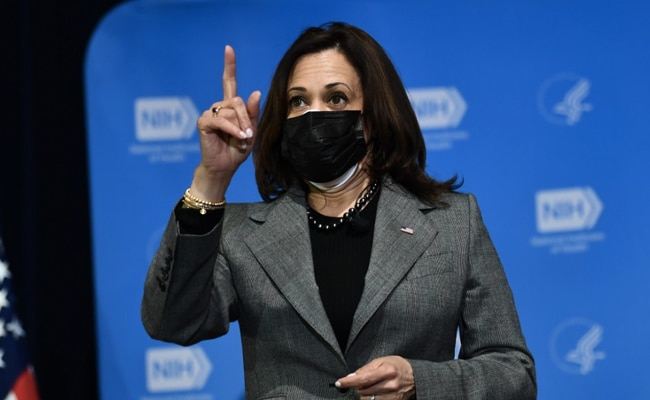 'My 1st Job Was To Clean Pipettes In Mother's Lab': Kamala Harris