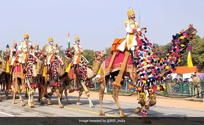 Republic Day Stunner, The BSF's Camel Contingent. See Here