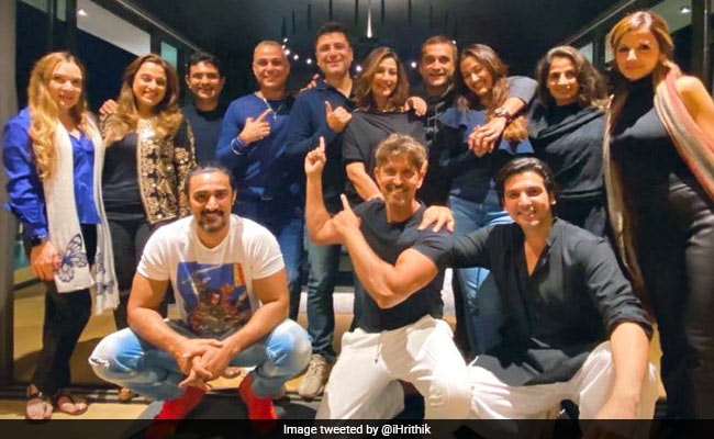 Hrithik Roshan, Sussanne Khan, Sonali Bendre And Others Celebrate Goldie Behl's Birthday