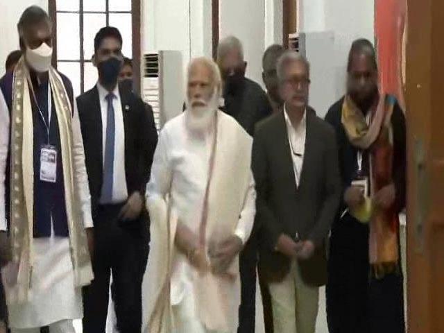 Video : PM Modi In Kolkata, To Inaugurate Netaji Museum