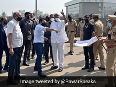 Sharad Pawar Visits Serum Institute In Pune, Takes Stock After Fire Damage