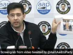 Delhi To Face Water Crisis Due To Closure Of Nangla Hydel Channel: Raghav Chadha