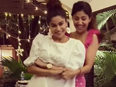 "Shilpa Shetty Is Sister Shamita's ""Favourite Dance Partner."" See Their Adorable Video"