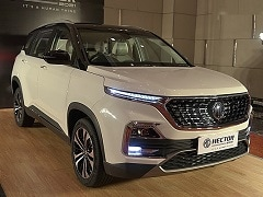 2021 MG Hector Facelift: What's New