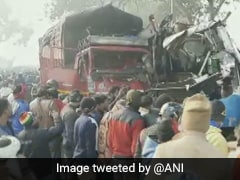 10 Killed, Several Injured In Bus-Truck Collision In UP, Rescue Ops On