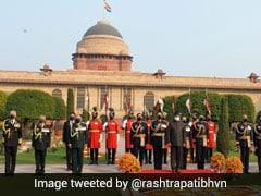 PM Modi, Other Ministers Attend President Kovind's Republic Day Reception
