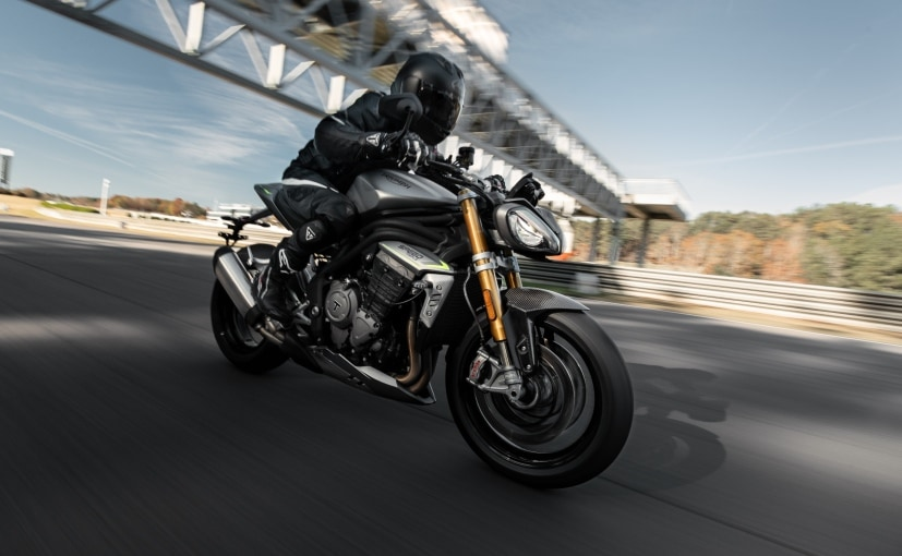 The all-new Triumph Speed Triple 1200 RS will be launched in India on January 28, 2021