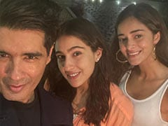 Inside Karan Johar's House Party With Sara Ali Khan, Ananya Panday, Manish Malhotra And Others. See Pics