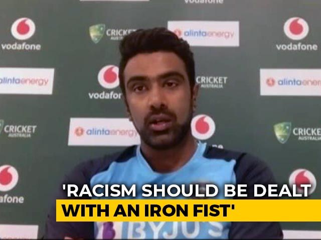 Video : Faced Racism In Sydney Earlier, Needs To Be Dealt With Iron Fist: Ashwin