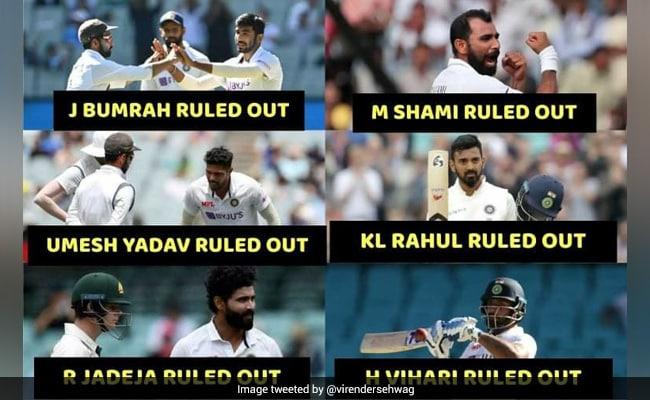 AUS vs IND: भारतीय खिलाड़ियों के चोटिल होने पर सहवाग का आया मजेदार रिएक्शन, बोले-