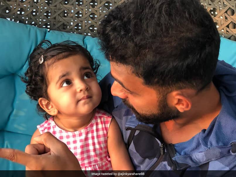 Ajinkya Rahane Spending Quality Time With Daughter Is The Cutest Thing On The Internet. See Pic