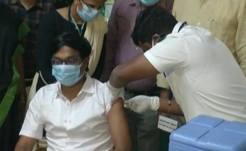 कर्नाटक में टीकाकरण के पहले दौर में सुस्त रफ्तार के बीचदूसरे चरण की तैयारी तेज