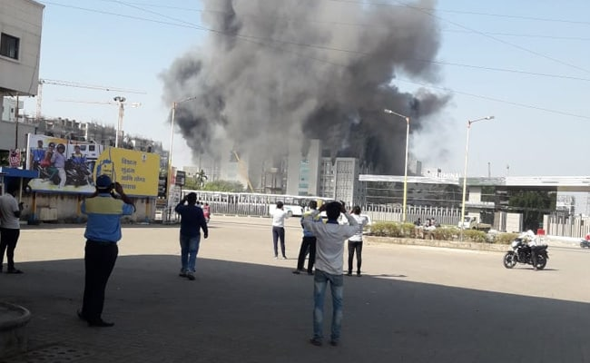 5 Dead In Fire At Under-Construction Building At Serum Institute