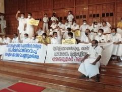 Opposition Boycotts Governor's Address In Kerala Assembly, Stages <i>Dharna</i>