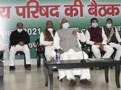 """""""We Are With NDA"""": Nitish Kumar's JDU, As Tejashwi Yadav Says """"Bargainer"""""""
