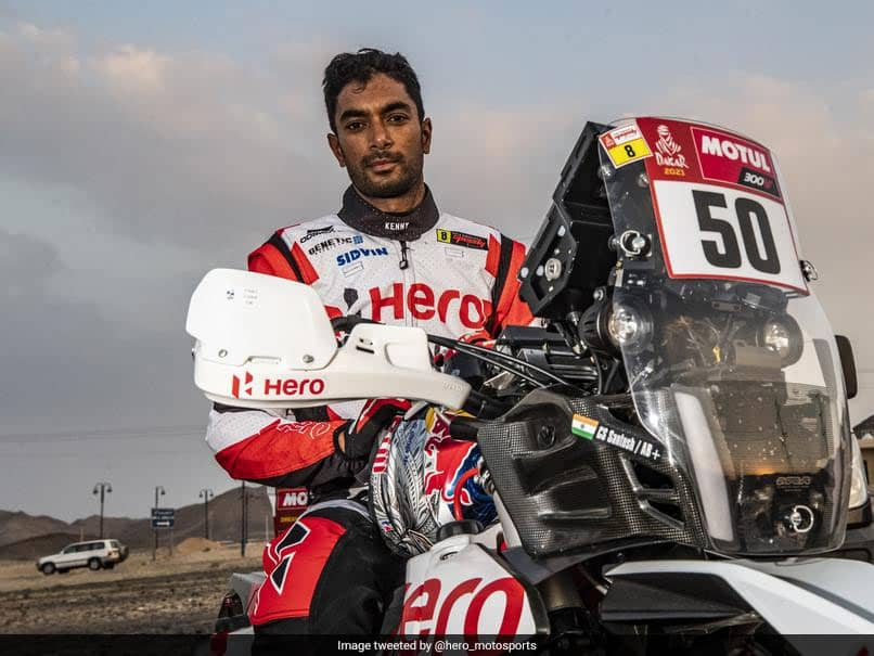 Indian Motorcycle Rider CS Santosh Suffers Crash In Dakar Rally, In Medically-Induced Coma