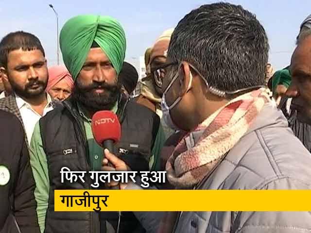Videos : टिकैत के बुलाने पर हजारों की संख्या में किसान पहुंचे गाजीपुर बॉर्डर